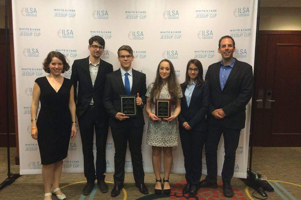 Law students of ELTE triumphant in Washington