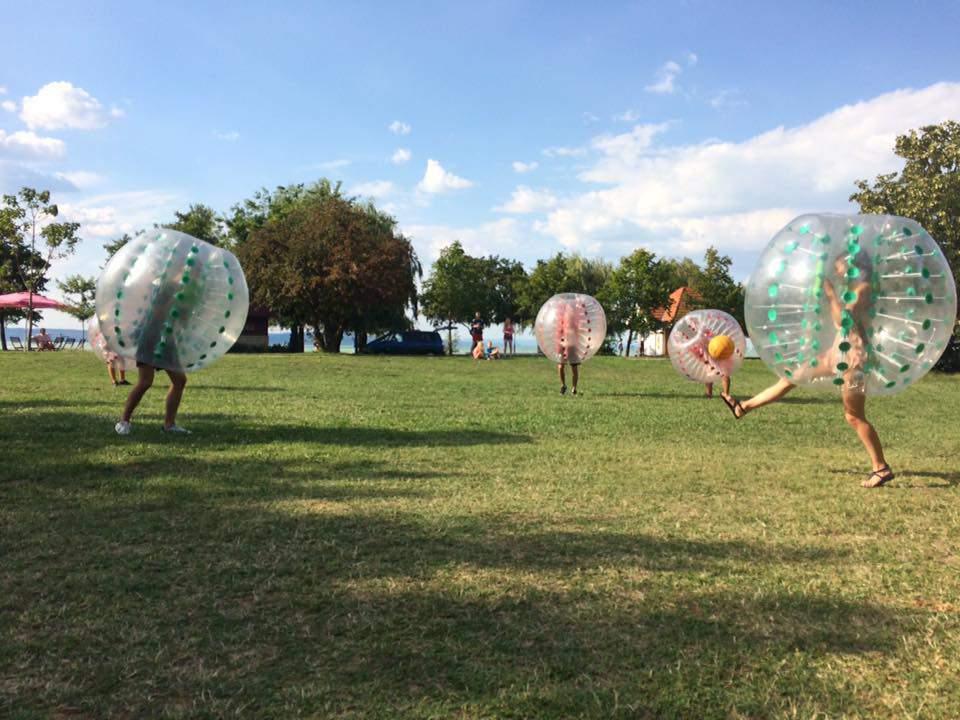 Bala Ball bubble soccer buborékfoci Siófok
