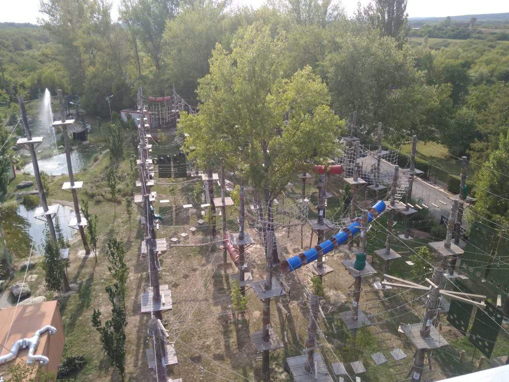 Balatonfüred Brázay KalandPark adventure park