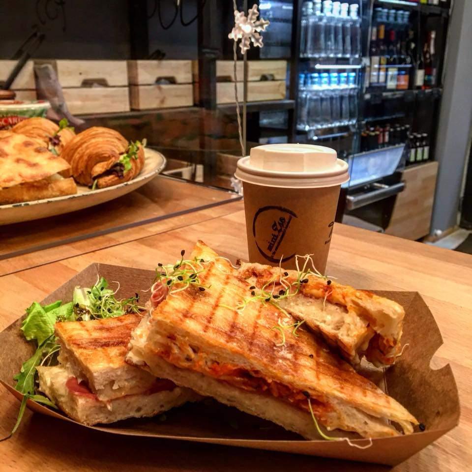 MiniZso restaurant Budapest sandwich