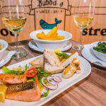 Bubba's Downtown restaurant Budapest seafood