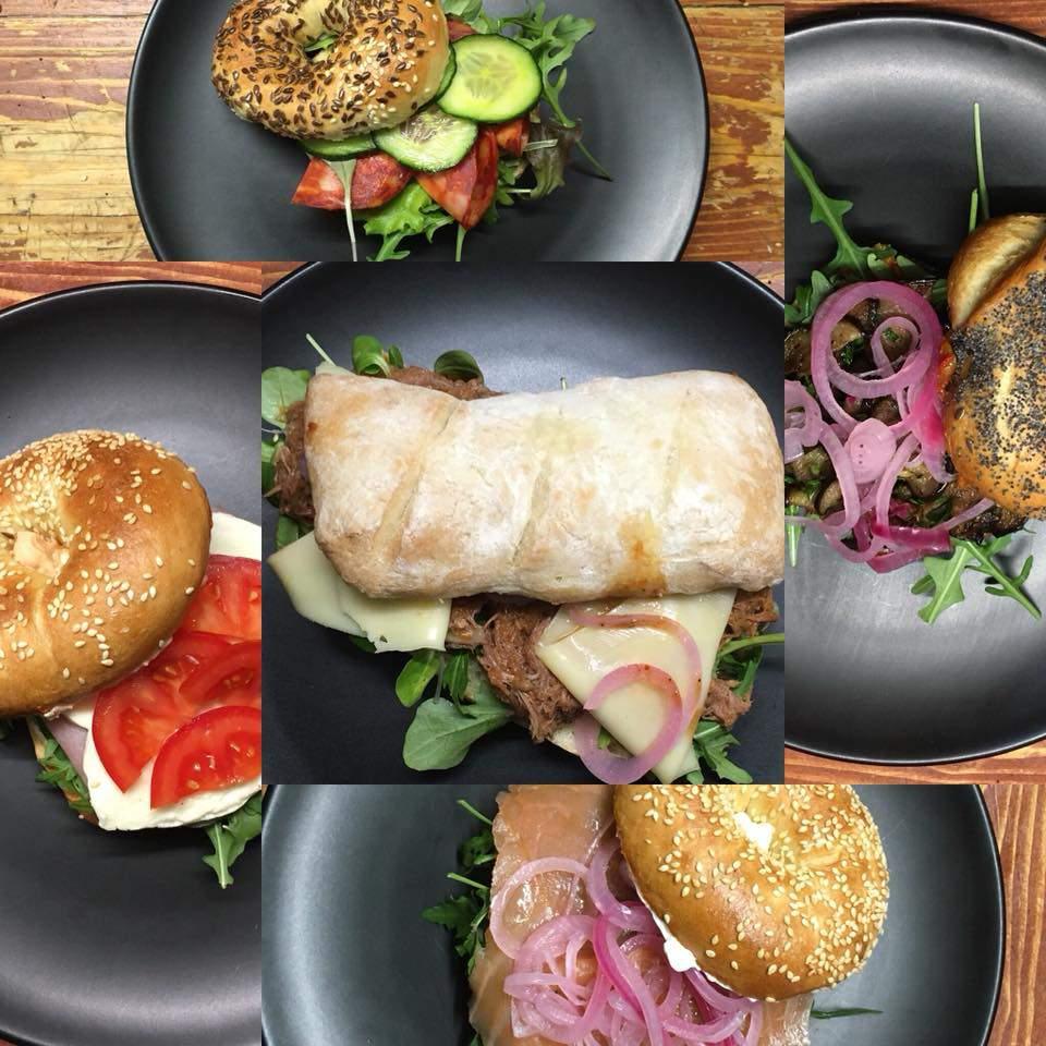 MiniZso restaurant Budapest bagel