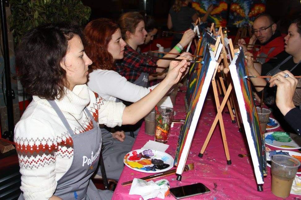 DIY Paint Cocktail workshop