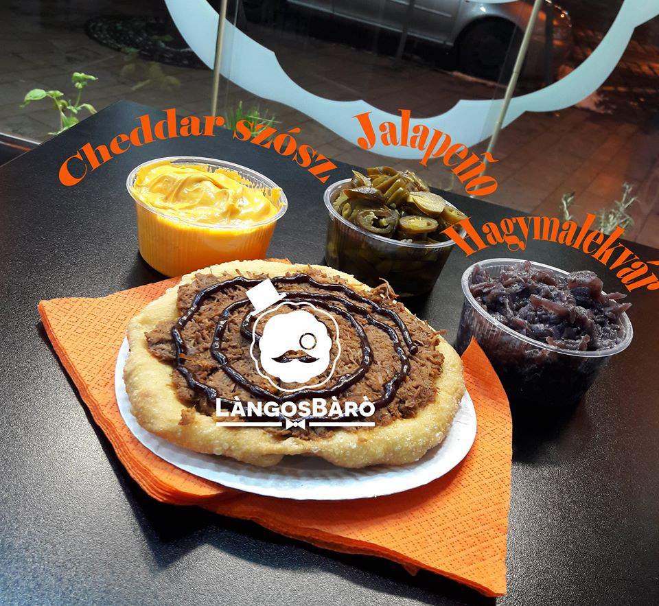 LángosBáró restaurant Budapest lángos