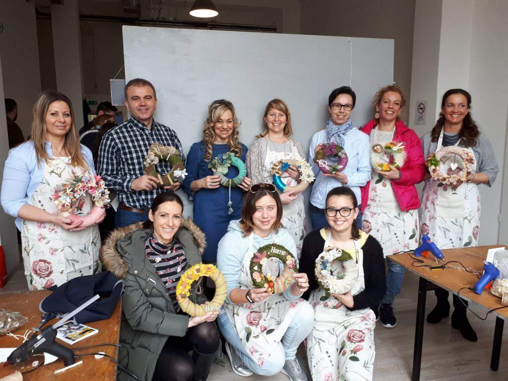 Flow'&More DIY wreath workshop