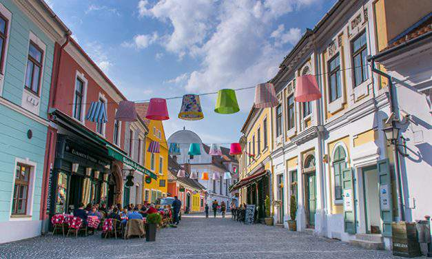 The Hungarian city of arts – Szentendre