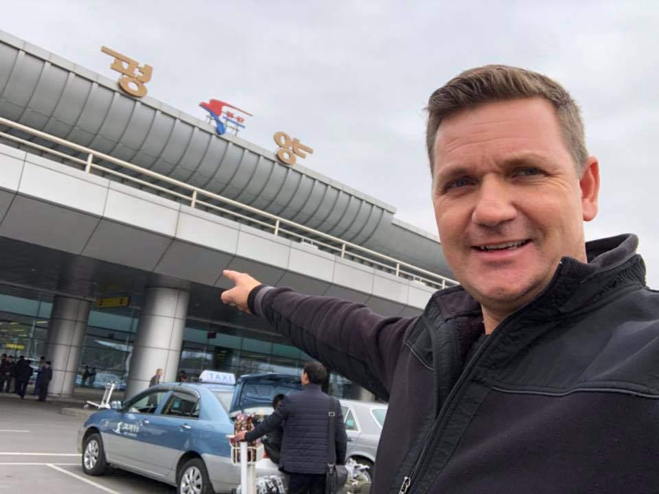 Novák András riporter North Korea