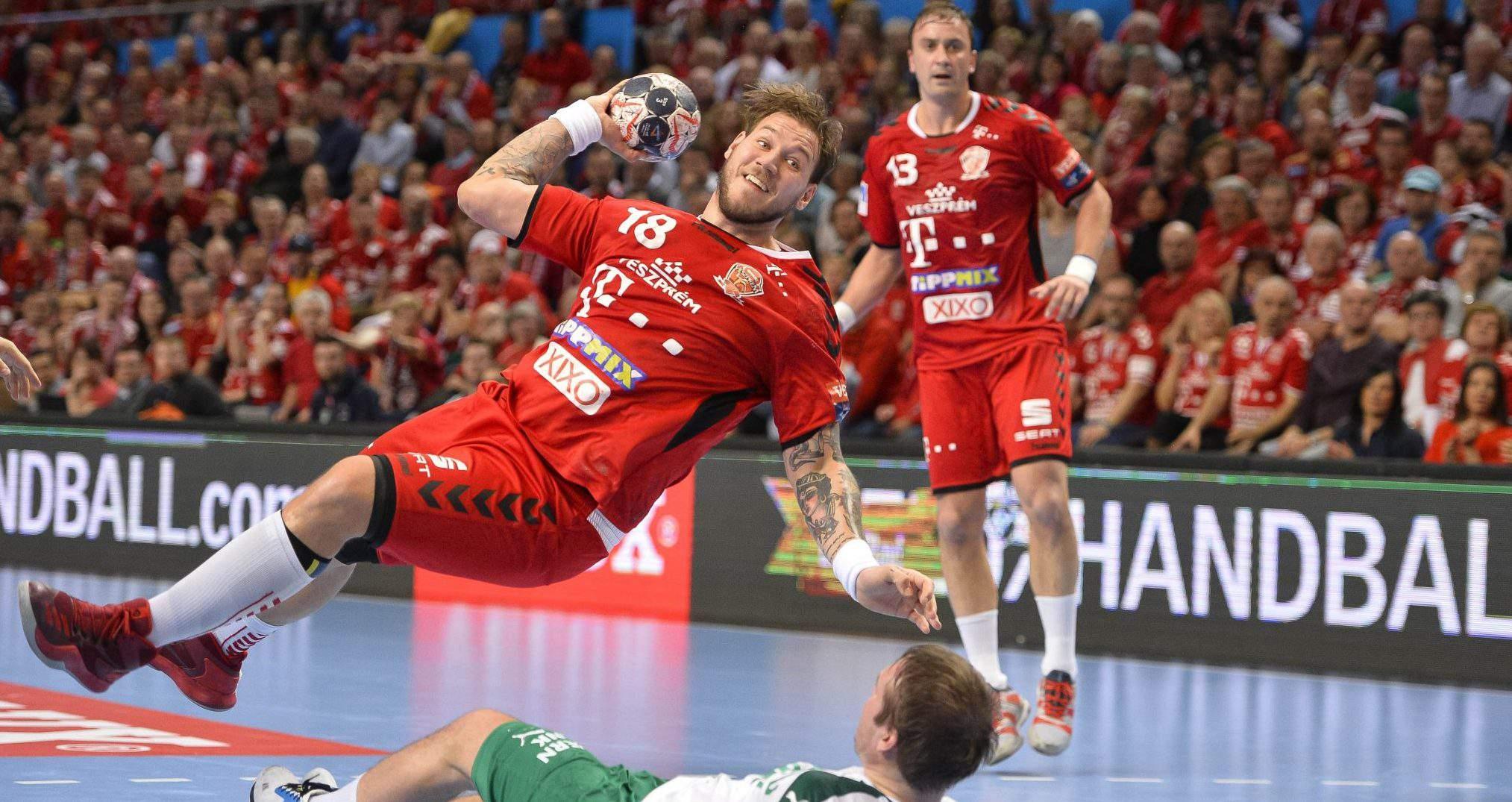 veszprém handball team match