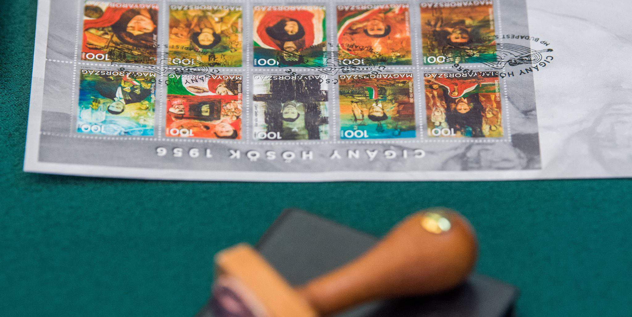 stamp Roma Romani 1956