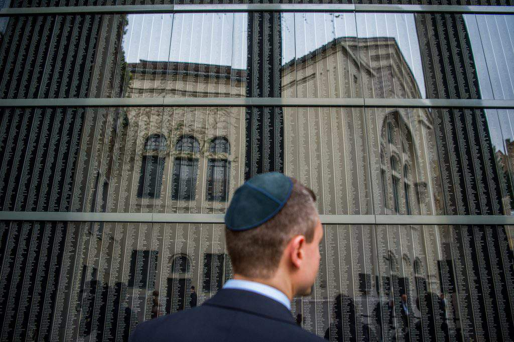 Holocaust Memorial Day in Hungary jews