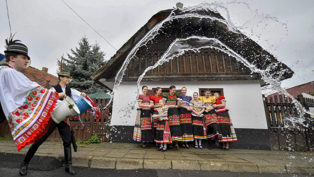 Mezõkövesd, Hungary – Traditional Easter, photo: MTI