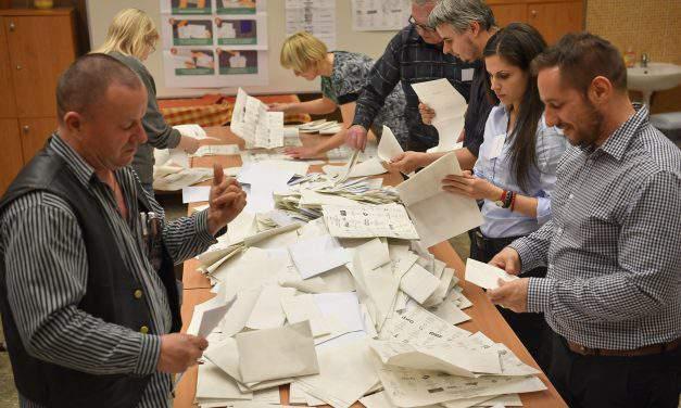 Election 2018 – Demonstrations against election results held in Pécs, Debrecen