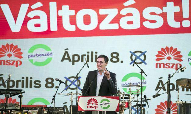 Election 2018 – Socialist-Párbeszéd PM candidate Karácsony unveils '100-day' programme