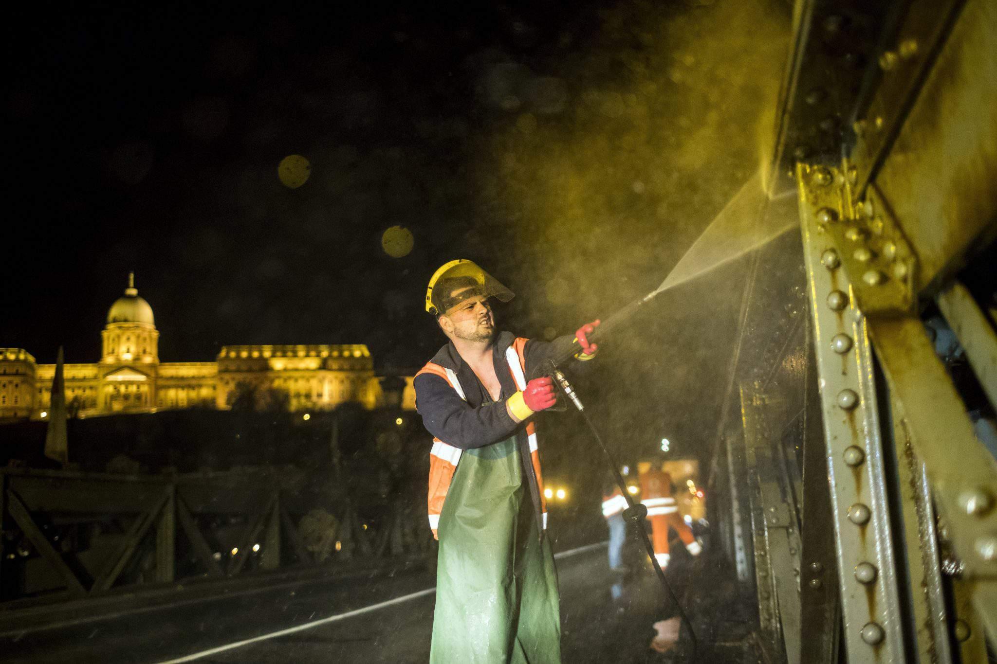 Budapest worker