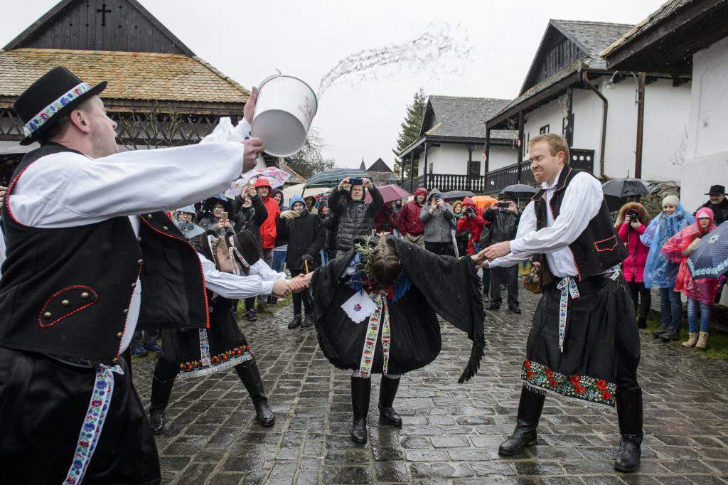 Hollókő, Hungary – Traditional Easter, photo: MTI
