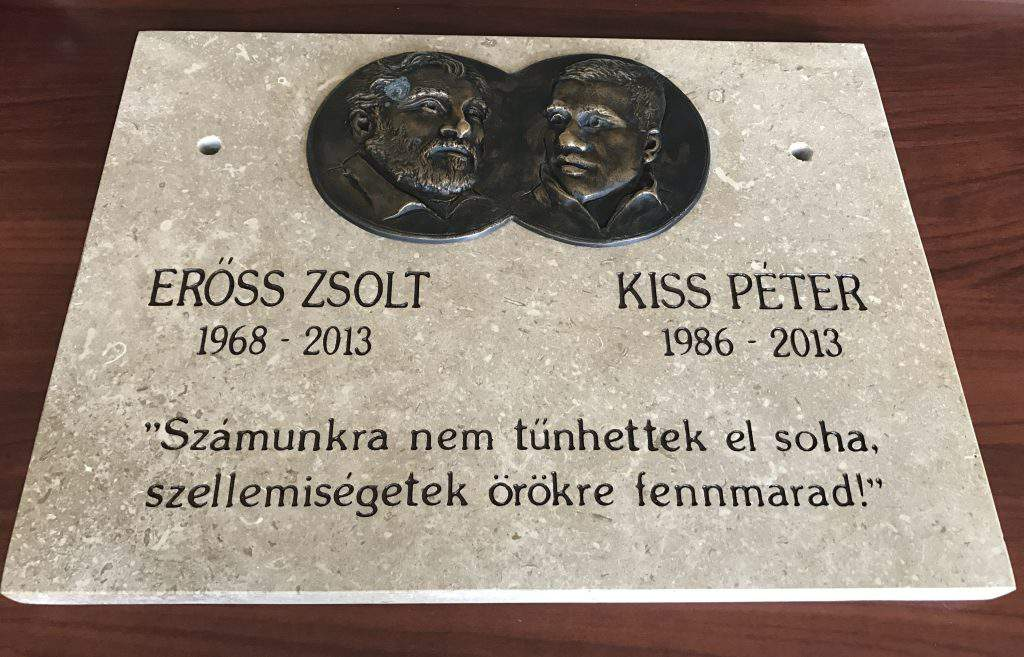 Zsolt Erőss and Péter Kiss climber