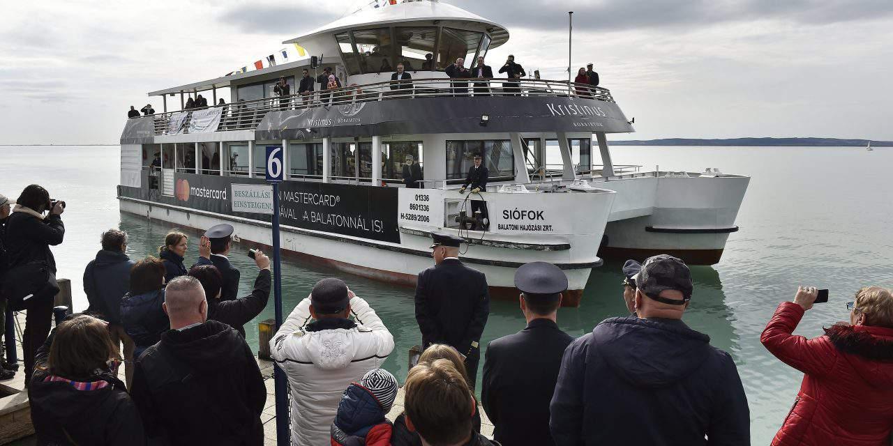 Sailing season on Lake Balaton is on again