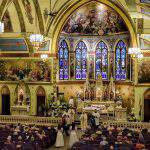 Holy Cross Hungarian Church in Detroit hosts mass mob opener