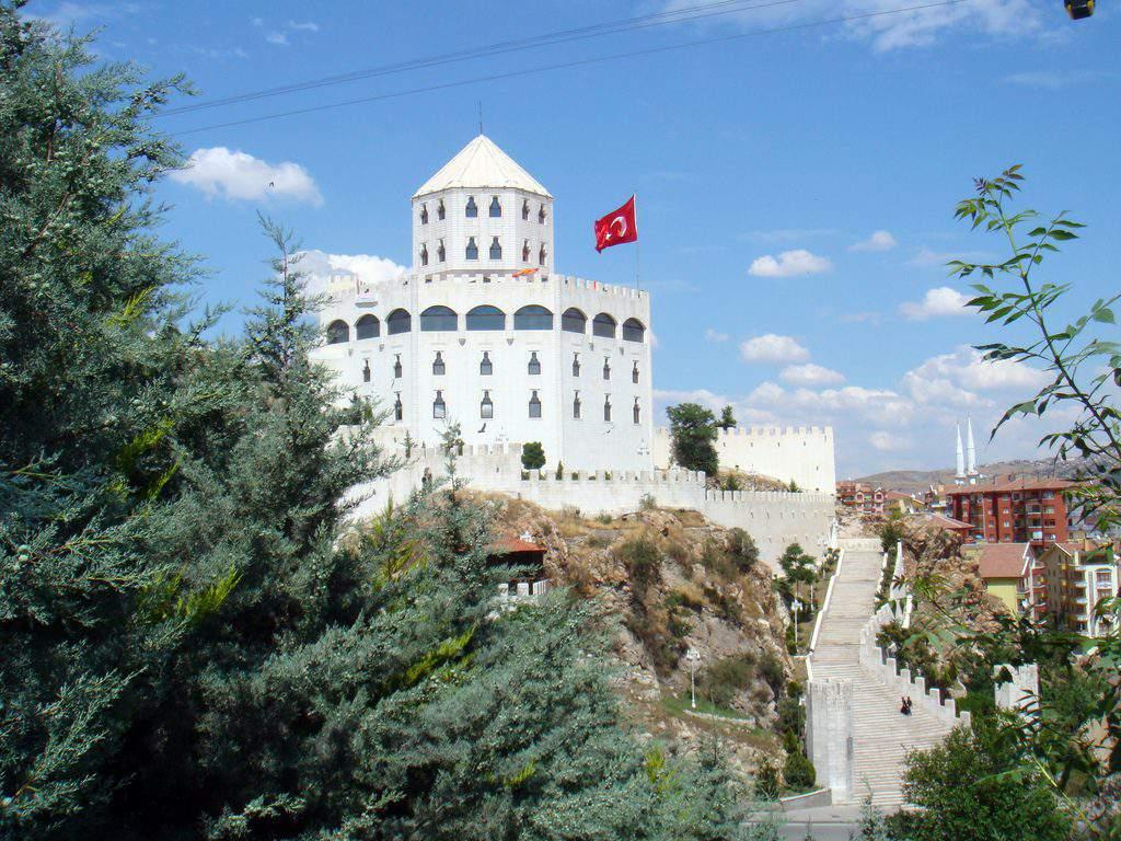 Ankara Estergon Kalesi Esztergom castle