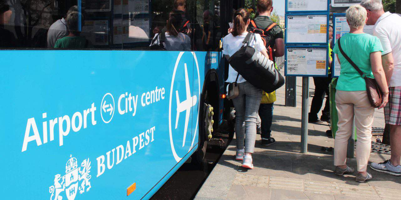 Extended schedule introduced for bus 100E serving Budapest Airport