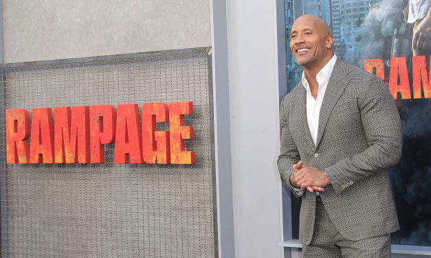 "Dwayne ""The Rock"" Johnson endorses Hungarian high schoolers running a student election campaign"