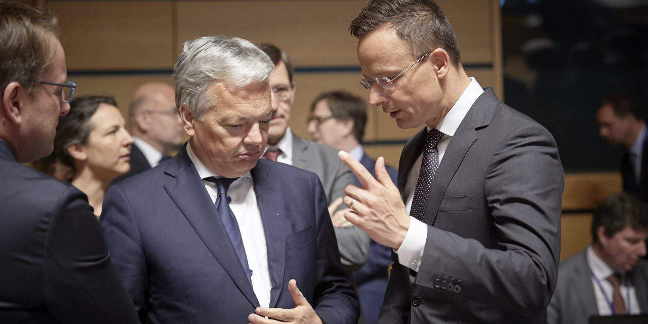 Soros at talks in Brussels to get Hungary punished, says Hungarian FM in Luxembourg