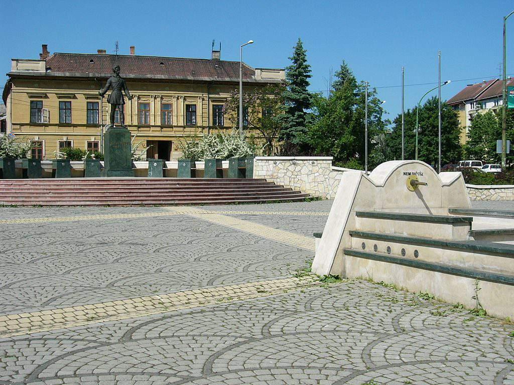 Petőfi Square Miskolc