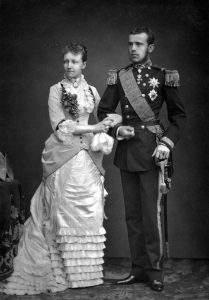 princess queen history Hungary Belgium