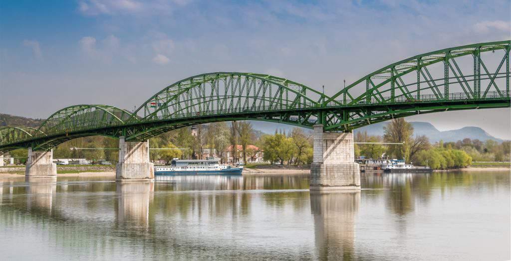 Esztergom Slovakia bridge Danube