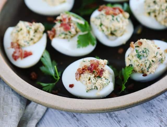 töltött tojás eggs