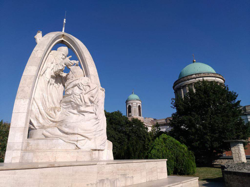 Esztergom statue Saint Stephen
