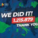 Over 1.2 million support minority SafePack initiative