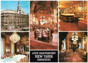 New York Café history