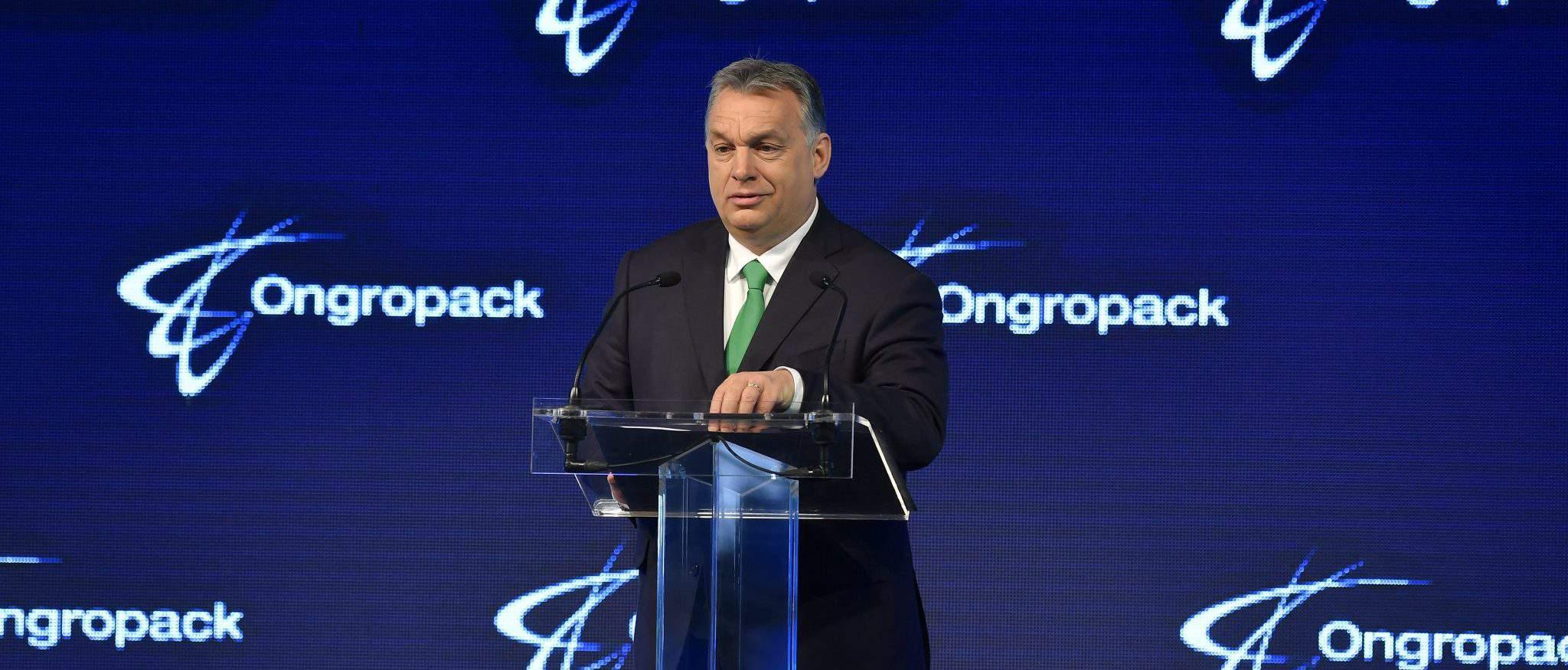 Vikto Orbán Prime Minister speech