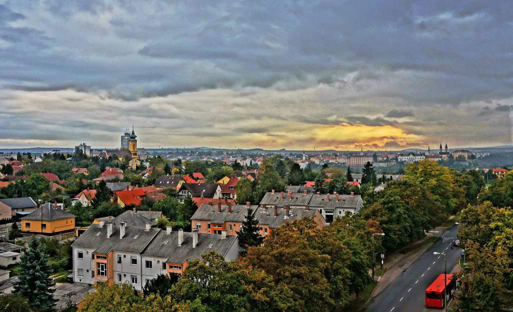 Veszprém city houses