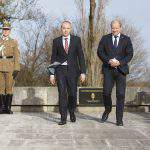 defence ministers Croatia commemoration