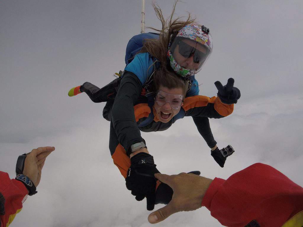 tandem jump air