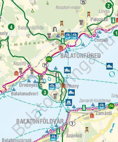 balaton bicycle trip