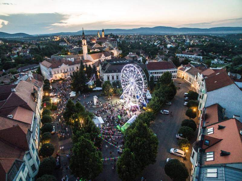 veszprém street music festival
