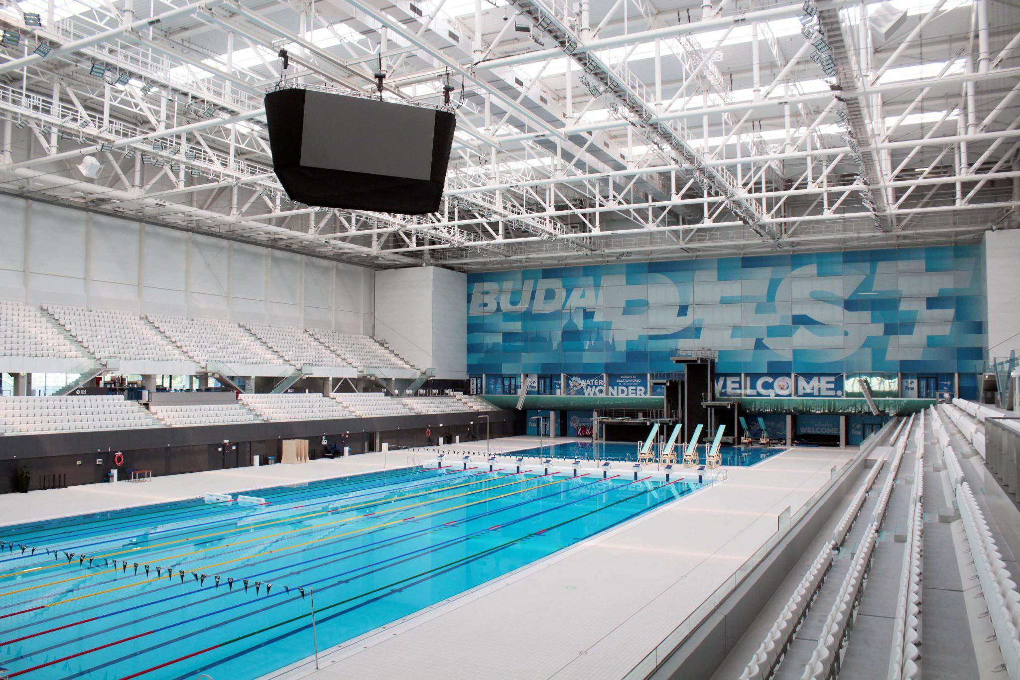duna aréna swimming pool complex water