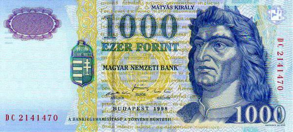 1000-es bankjegy