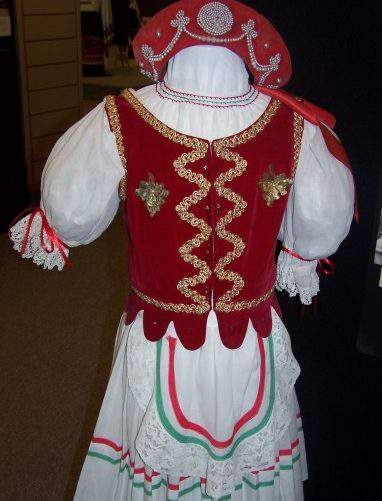 museum hungarian traditional clothing