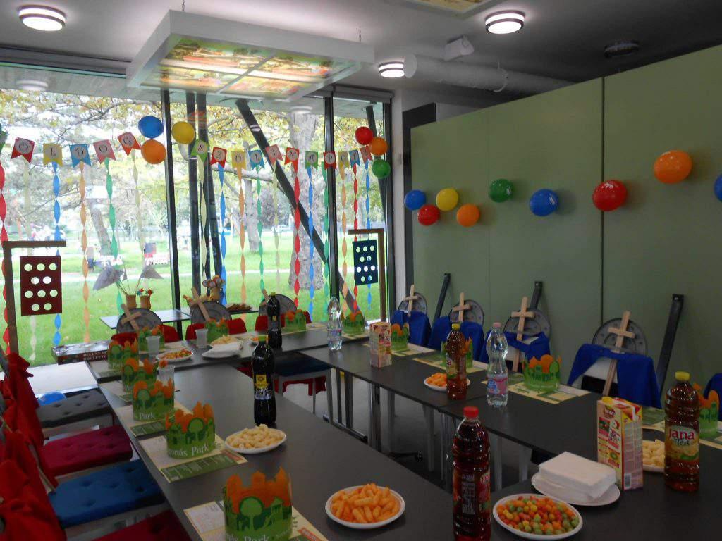 Székesfehérvár Koronás Park party birthday