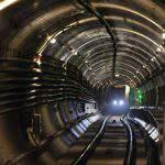 M4 metro tunnel