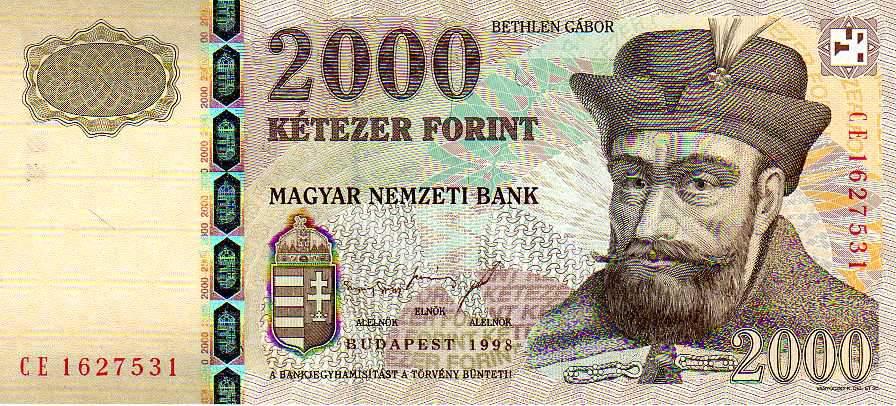 2000-es bankjegy