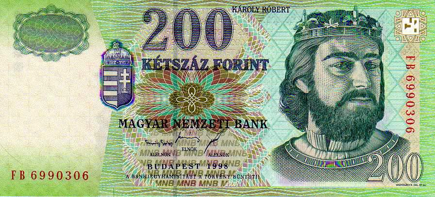 200-as bankjegy