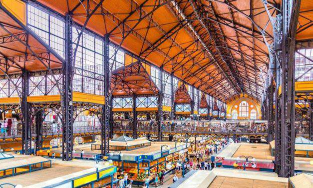 The best markets in downtown Budapest
