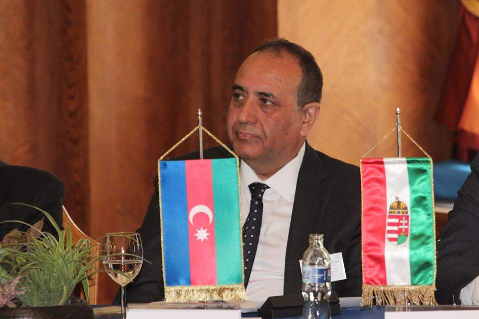 The Extraordinary and Plenipotentiary Ambassador of Azerbaijan to Hungary, H.E. Mr. Vilayat Guliyev