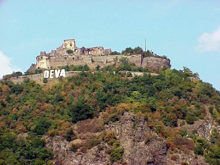Deva fortress Romania