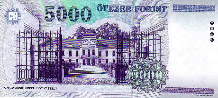 ötezres bankjegy